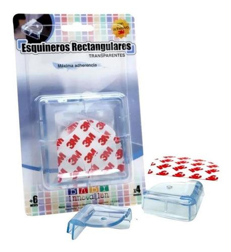 esquineros rectangulares baby innovation silicona transparen