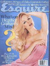 esquire * abr/00 * importada * heather graham * reed