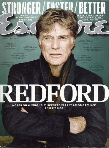 esquire: robert redford / ben harper / hugh hefner / olwalt