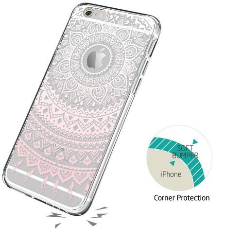 esr iphone 6s funda, iphone 6 / 6s funda híbrida, amortigua