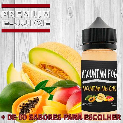 essencia liquida ejuice eliquid premium 30ml kit 8 + brinde