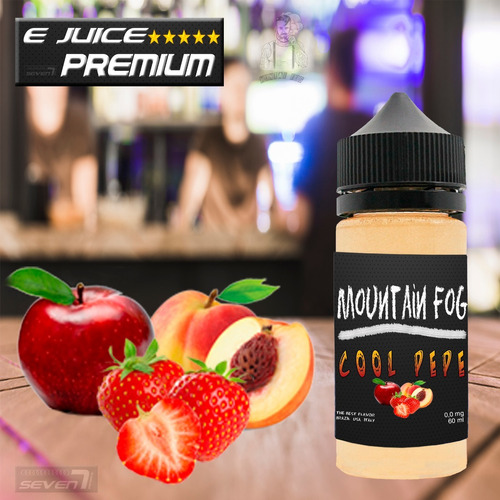 essencia liquida para cigarro eletrônico 0mg 30ml  kit 5 un