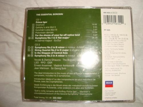 essencial borodin decca  2 cd audio cd en caballito