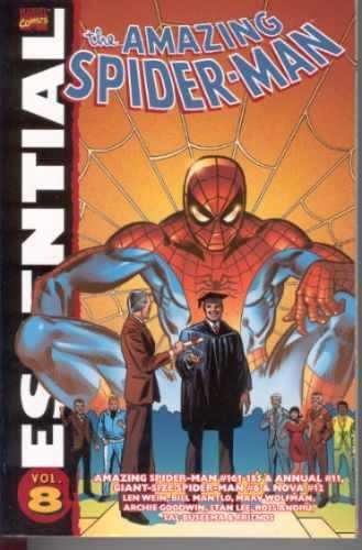 essential amazing spider-man 08 marvel - bonellihq cx78 g19