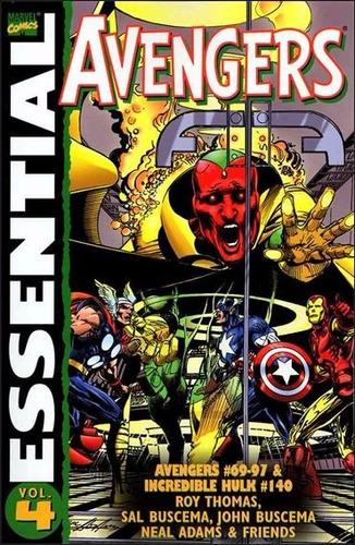 essential marvel avengers volume 4