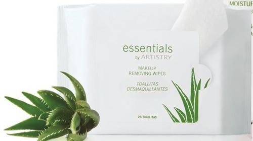 essentials by artistry gel purificador exfoliante