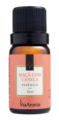 essência maça com canela aroma adocicado 10ml via aroma