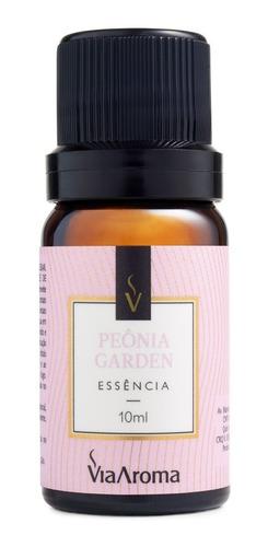 essência peonia garden aroma adocicado 10ml via aroma
