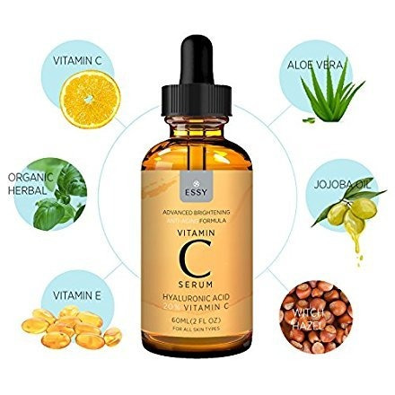 5ccd9b4ef34 Essy Beauty Facial Vitamin C Serum Para Una Piel Más Reaf ...