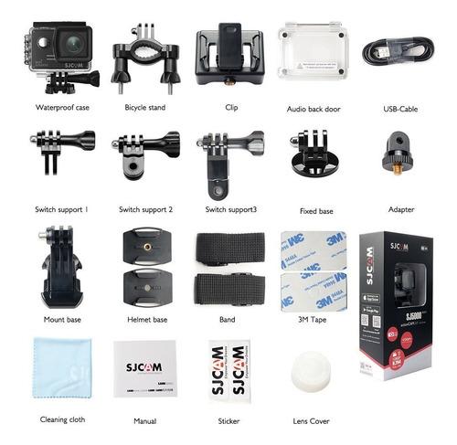 esta câmera action cam sjcam sj5000 wifi full hd water resistant wi-fi realiza filmagens em full hd e grava de baixo d'a
