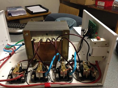 estabilizador automatico tension 12000w elevador hogar aire