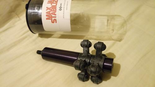 estabilizador bowjax para arco e flecha cor preta 5 poleg