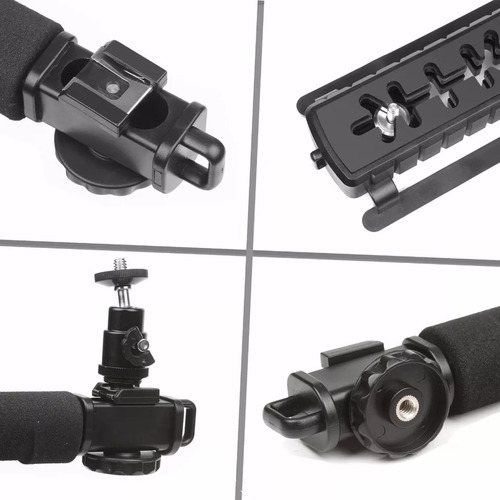 estabilizador camaras  celulares y gopro incluye adaptadores