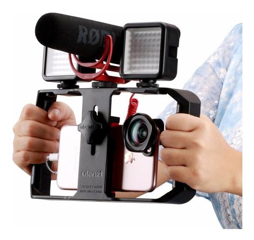 estabilizador de camara celular vídeo soporte la grabar vivo