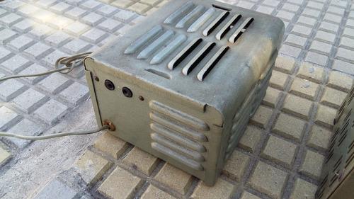 estabilizador de corriente antiguo
