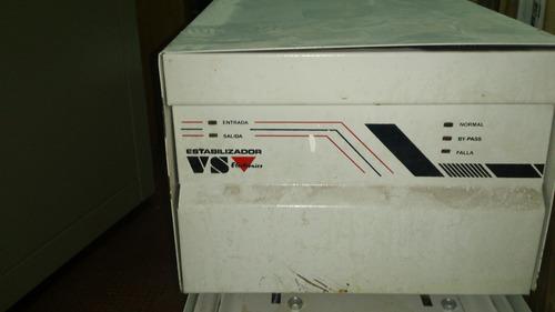 estabilizador de tension 13,5kva 220v 61a modelo vs