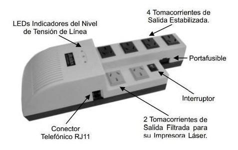 estabilizador de tensión atomlux - sierra electricidad