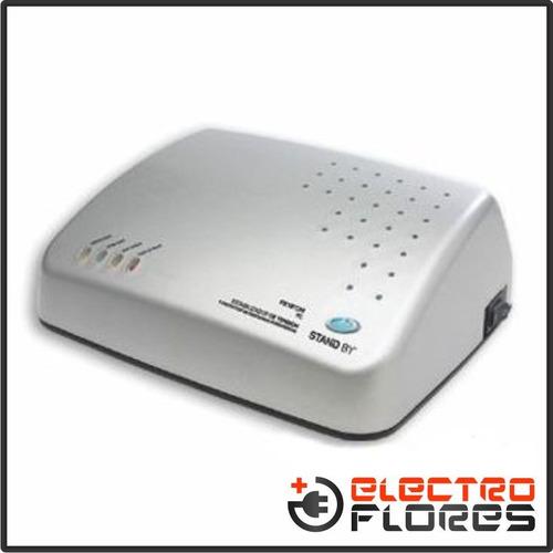 estabilizador de tensión digital stand by 2200va 2pc 4 tomas