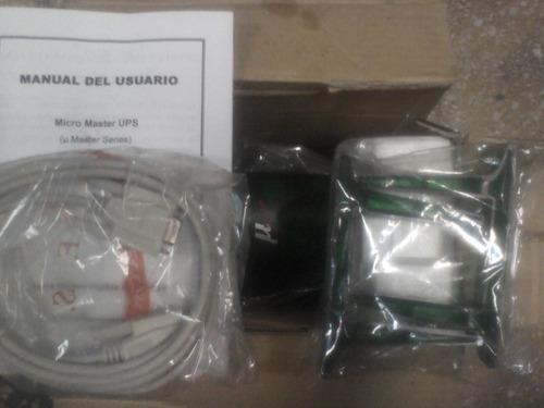 estabilizador de tension ups micro master micromaster 400