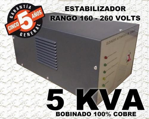 estabilizador elevador de tensión 5 kva 5000w casa oferta