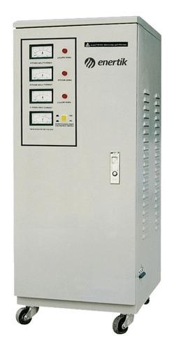 estabilizador elevador de tensión trifásico 280-430vca 20kva