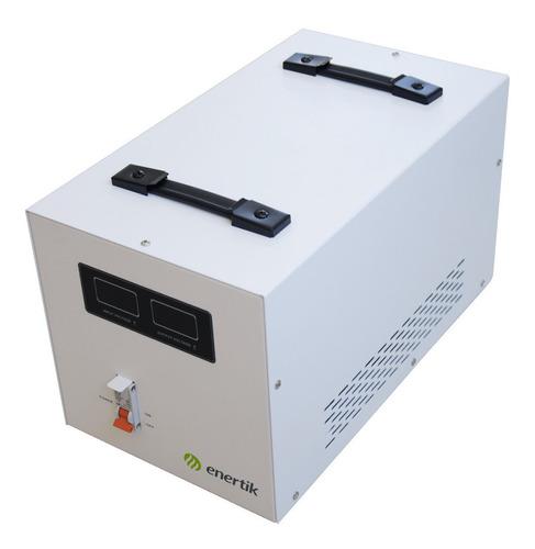 estabilizador elevador regulador de tensión 140-260vca 10kva