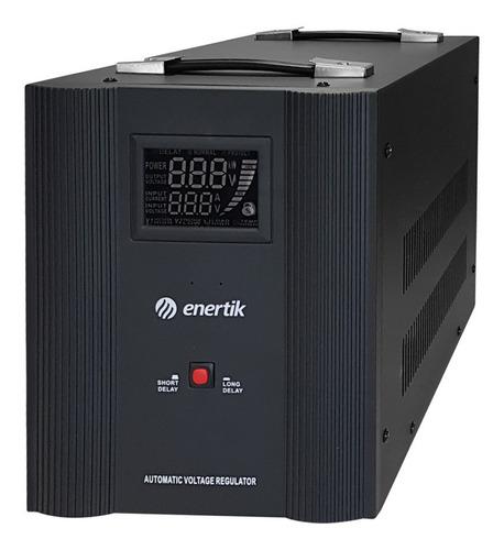 estabilizador elevador rele 140-260vca 5.5kva enertik