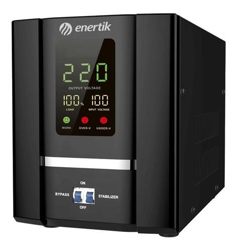 estabilizador elevador tensión servomotor 130-250vca 10kva