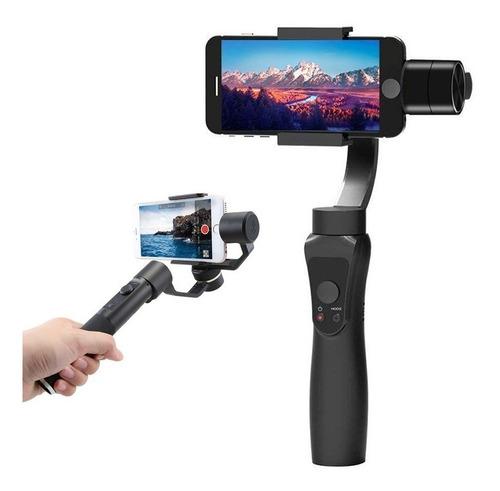 estabilizador gimbal de 3 ejes soporte para cámara celular