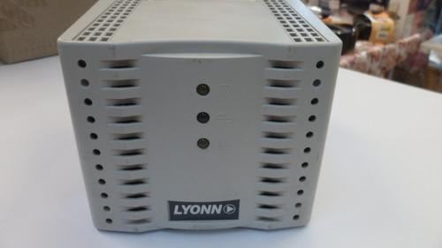 estabilizador lyonn (no funciona tecla) (usado) 1000w dz3060