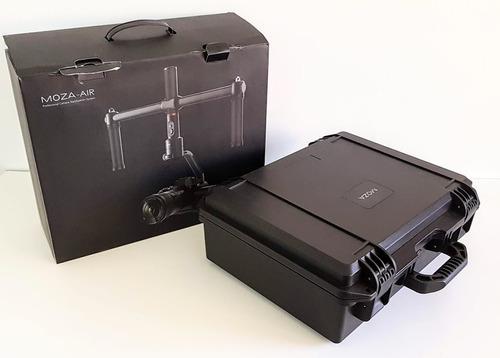 estabilizador moza air v2.0 - carga max 2,5 kg - novo c/ nf