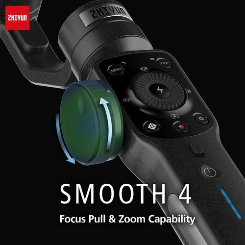 estabilizador para smartphone zhiyun 4 smooth