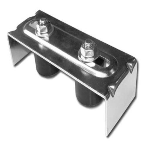 estabilizador simple rodillos porton corredizo