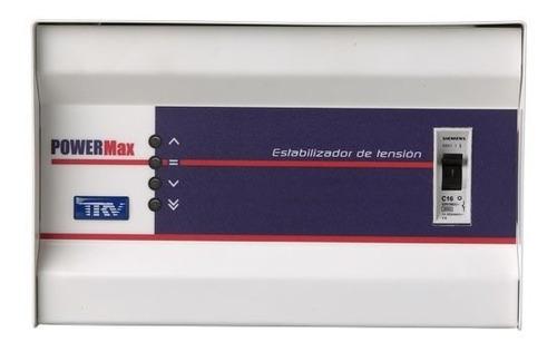 estabilizador trv powermax 3,3 kva media potencia