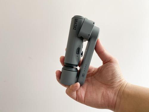 estabilizador zhiyun smoth x, gimbal compacto, retractil/iva