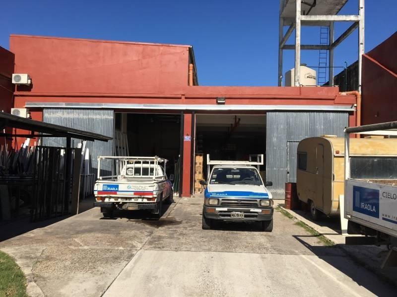 establecimiento industrial de 500 m2 s/800 de terreno