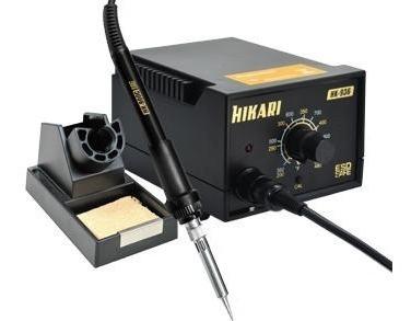 estacao de solda analogica hikari hk-936esd antiestatic 127v