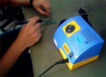 estacao de solda analogica lead-free - 100°c a 450°c - novo