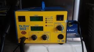 estacao de solda e retrabalho ar quente yaxun 902+ ( 220v)