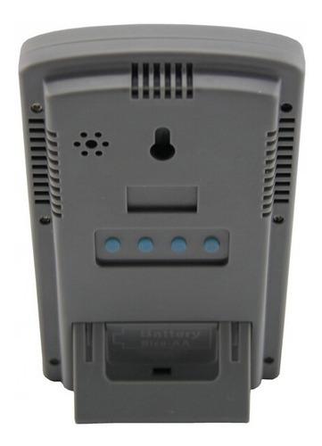 estacao metereologica com sensor externo medidor temperatura