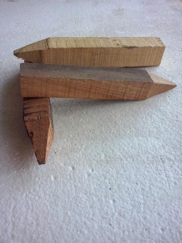 estacas de madera para obras viales y loteo de terrenos
