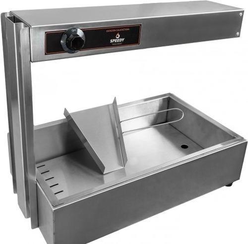 estacion calefactora mantenedor papas fritas speedy grill