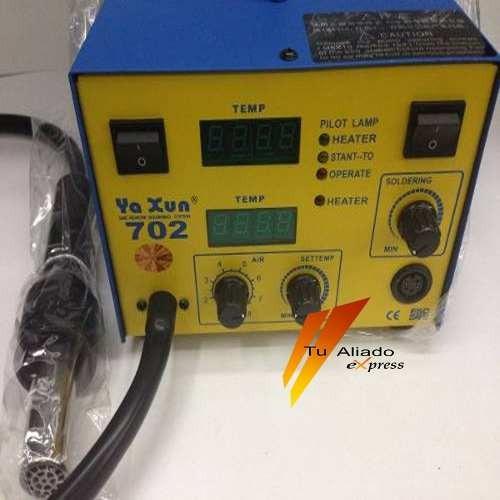 estacion calor soldar celulares ya xun 702 cautin soldadura