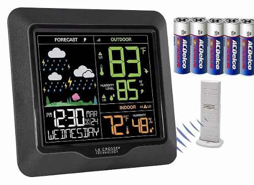 estacion central meteorologica la crosse wireless temp hume
