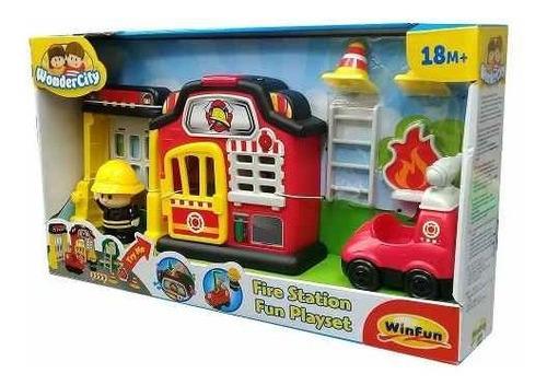 estacion de bomberos win fun 1307