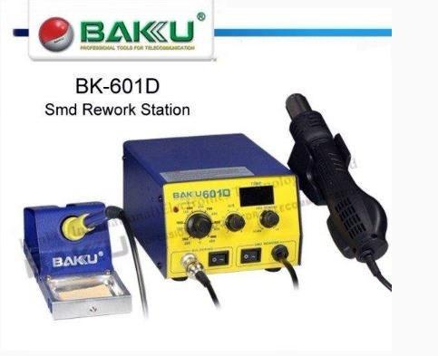 estacion  de calor y soldadura baku 601d