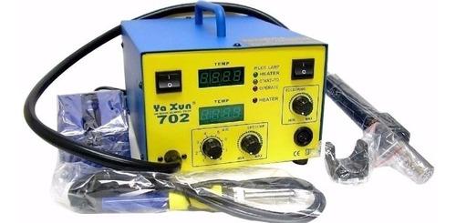 estacion de calor y soldadura yaxun mod 702 digital  tienda!