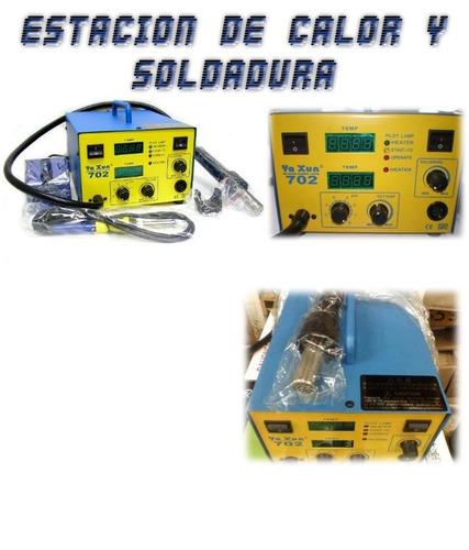 estacion de calor y soldar ya xun 702,850  servicio tecnico