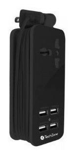 estacion de carga 4 puertos usb celulares smartphone