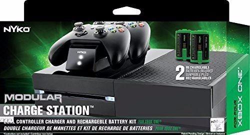 estacion de carga control xbox one modular niko+2 baterias